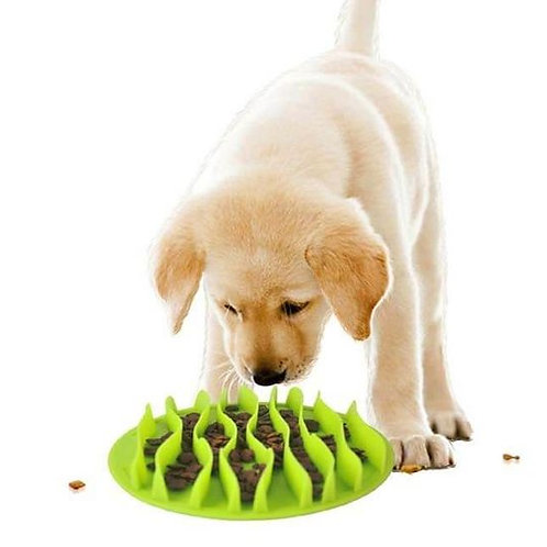 Dougez Fun Silicone Anti Choking Slow Feeder Mat for Dogs