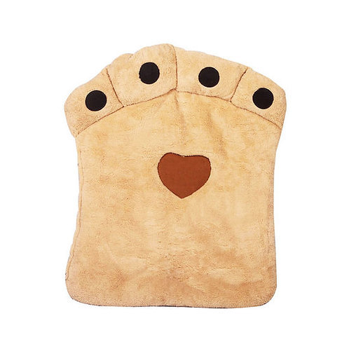 Nunbell Paw Shaped Cushion Bed for Medium to Large Dogs Cats