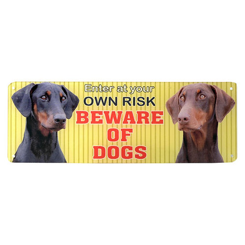 Kennel Beware of Dogs Acrylic Sign PlateKennel Beware of Dogs Acrylic Sign Plate