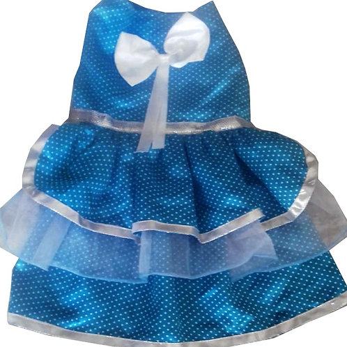 Zorba Designer Party Frill Frock Dress for Cats