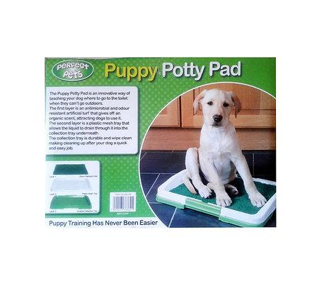 Perfect Pet Puppy Dog Potty Training Pad Tray