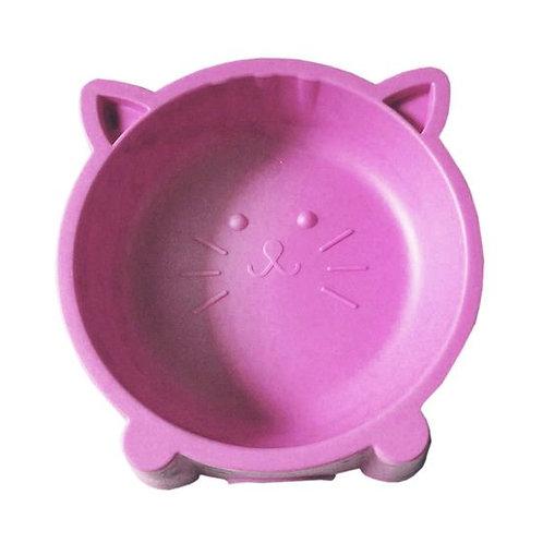 Kitty Cat Face Small Pet Feeding Non-Slip Bowl