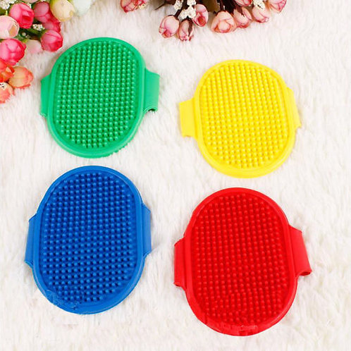 Nunbell High Quality Rubber Bathing Brush for Dogs and Cats