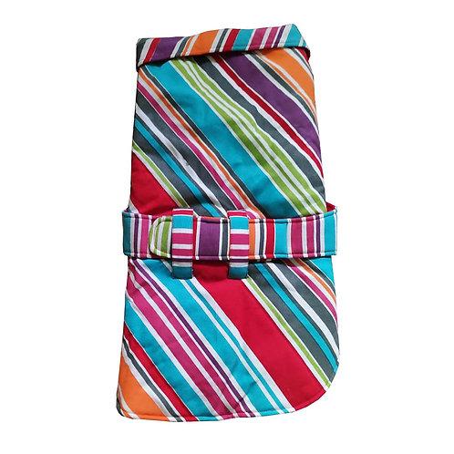 Zorba Designer Stripes Winter Coat for Dogs