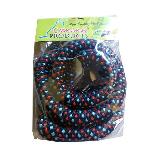 Canine Double Extra Thick Braided Reflective Rope Leash