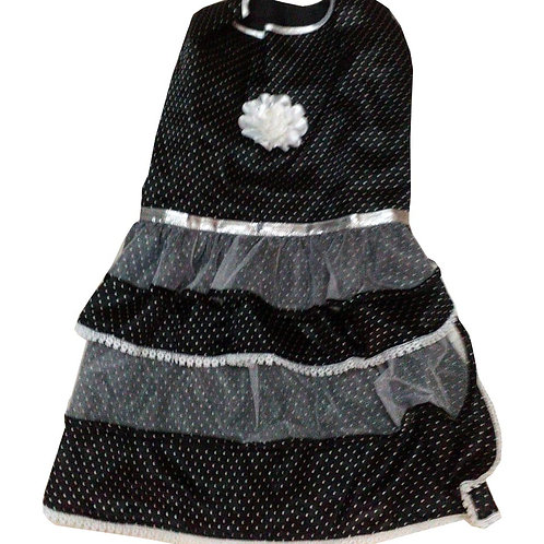 Zorba Designer Party Frock Dress for Cats