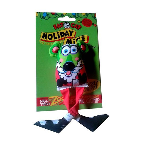 Fat Cat World-famous Holiday Mice Catnip Toys for Cats and Kittens