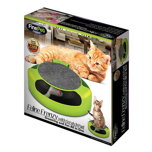 Feline Frenzy with Scratch Pad for Cats
