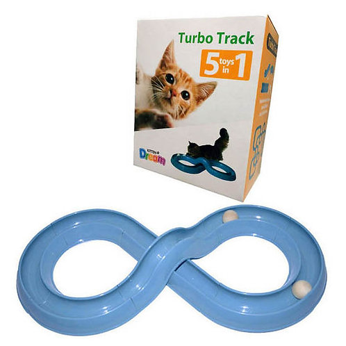 Kitten Dream Cat 5 in 1 Turbo Track Interactive Toy