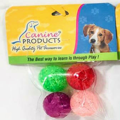 Canine Cat Toy 4 x 1 Impossi Ball