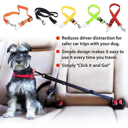 Puppy Love Car Safety Belt for All Breed Dogs