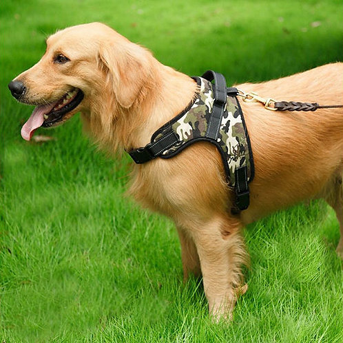 GP Padded Reflective Sports Dog Training Harness for Large Dogs