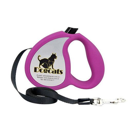 Dogcats Auto Retractable Nylon Braid Dog Leash