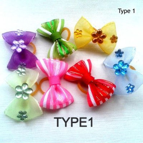 Puppy Love Deluxe Hair Bows for Pets