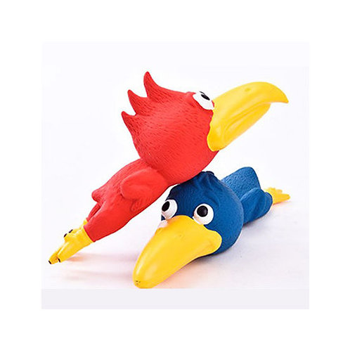 Canine Bird Shape Latex Squeaky Toy