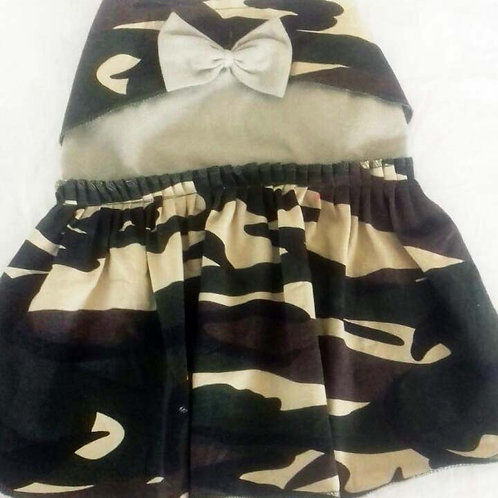 Zorba Designer Camouflage Military Frock