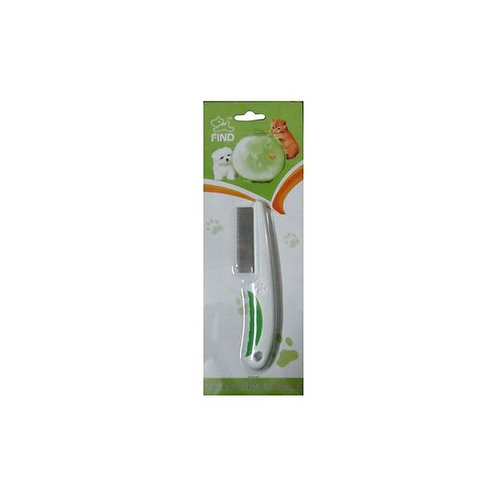 Find Flea Comb with Non-Slip Handle for Dogs and Cats