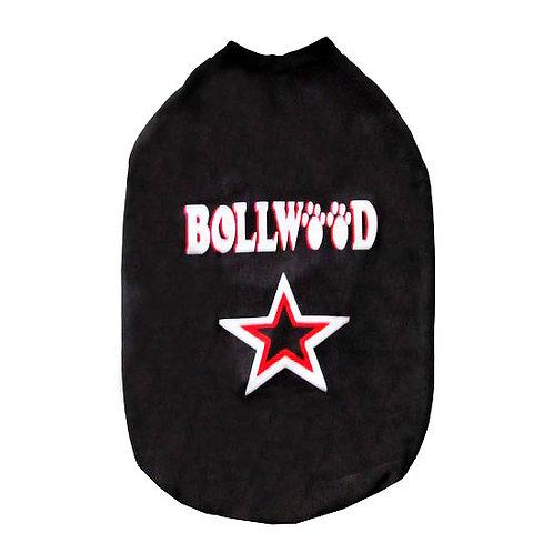 Rays Fleece Warm Bollywood Rubber Print Tshirt for Medium Dogs