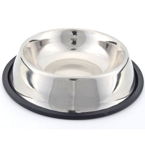 Kennel Non Topple Steel Feeding Bowl