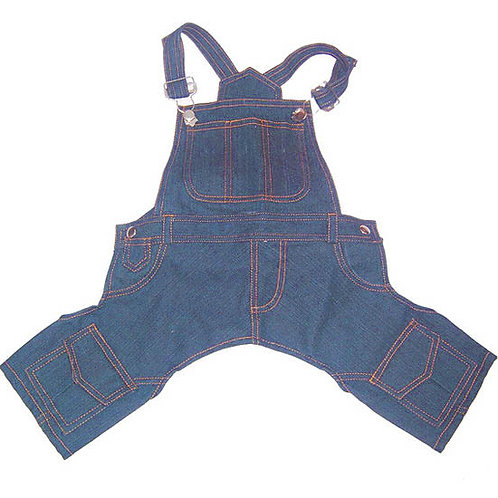 Zorba Designer Denim Dungaree for St Bernard