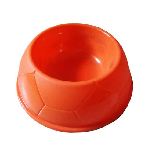 Canine Thick Plastic Medium Pet Feeding Bowl