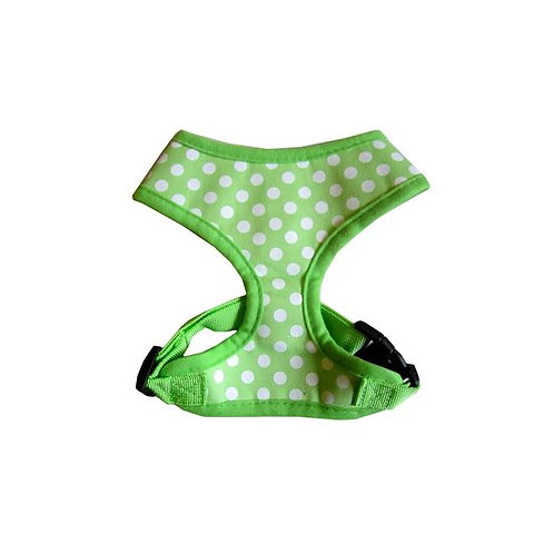 Puppy Love Spotted Cotton Vest Harness for Small Breed Dogs