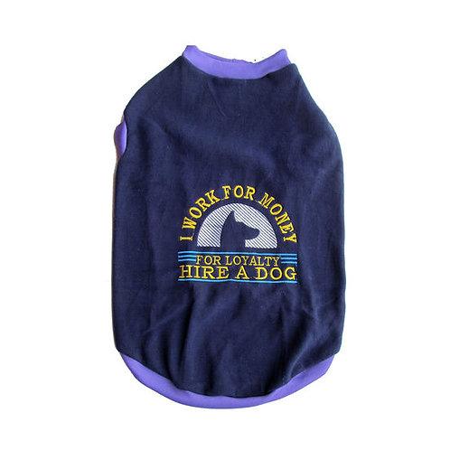 Rays Loyalty Fleece Winter Embroidery Tshirt