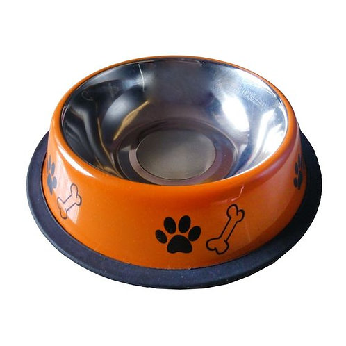 Canine Designer Printed Stainless Steel Bowl for Dogs & Cats