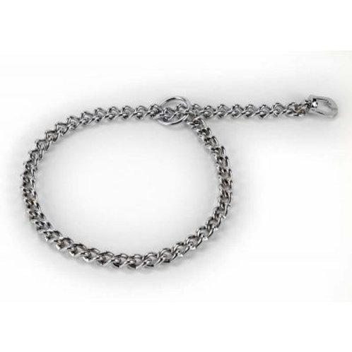 Kennel Revolving Choker Chain Collar