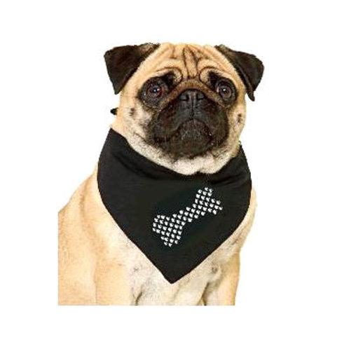 Puppy Love Crystal Rhinestone Bandana for Small to Medium Dogs