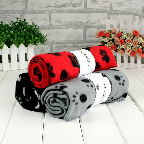 Puppy Love Fleece Blanket for Small Dogs and Cats