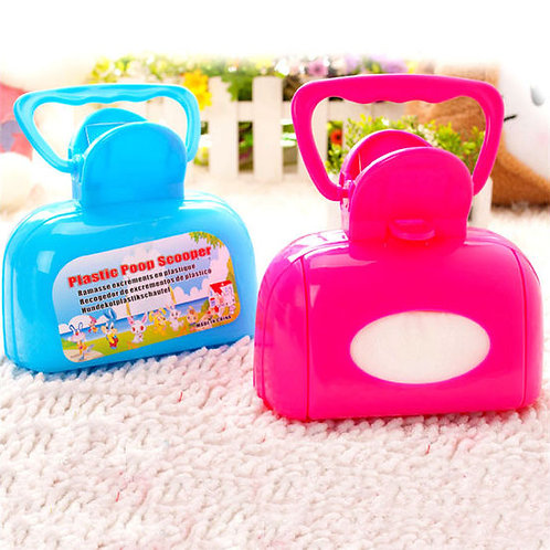 Plastic Box Shaped Poop Scooper for Pets