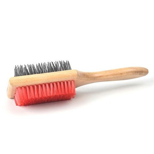 Kennel Two Sided Square Grooming Brush