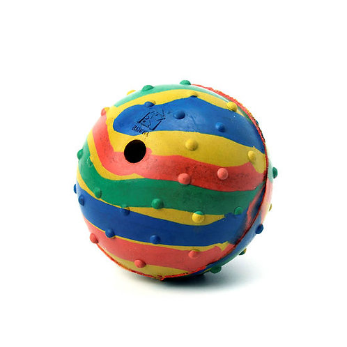 Kennel Solid Rubber Musical Ball for Small to Medium Dogs