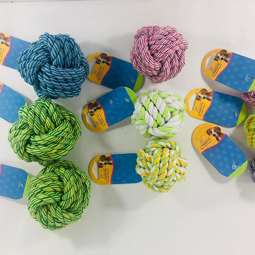 Canine Rope Ball Dog Toy
