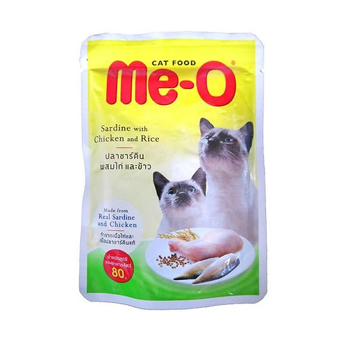 Meo Sardine with Chicken and Rice Gravy Cat Food