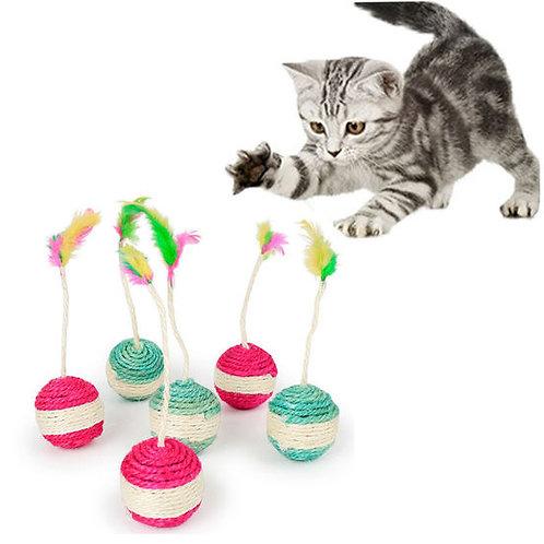 Transer Sisal Ball Cat Toy