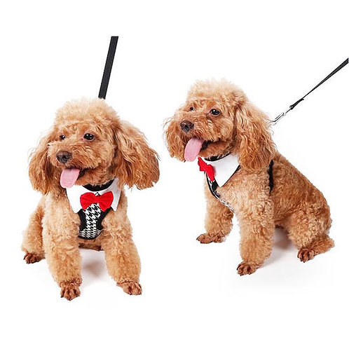 Puppy Love Tuxedo Body Harness for Toy Breed Dogs