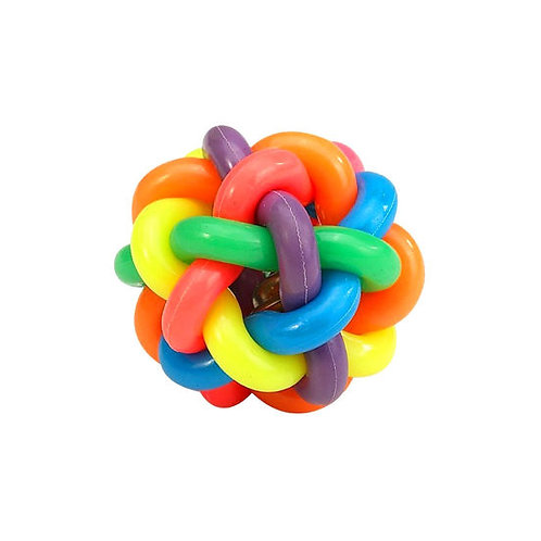 Multi Colour Musical Ball Pet Toy