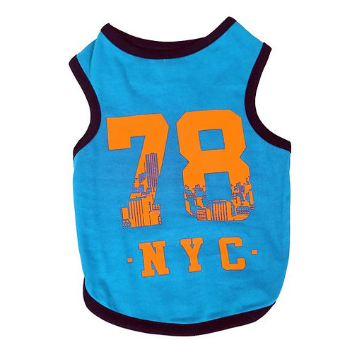 Canes Venatici Sporty Sando Sleeveless Tshirt for Dogs