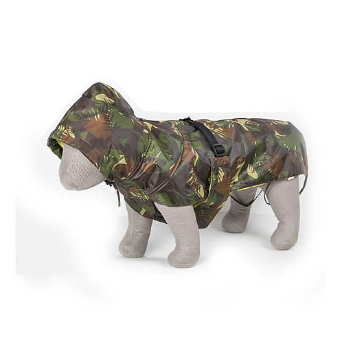 Zorba Dual Protection Army Camouflaged Military Raincoat