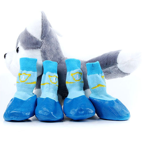 Puppy Love Anti-Slip Waterproof Sock Shoes