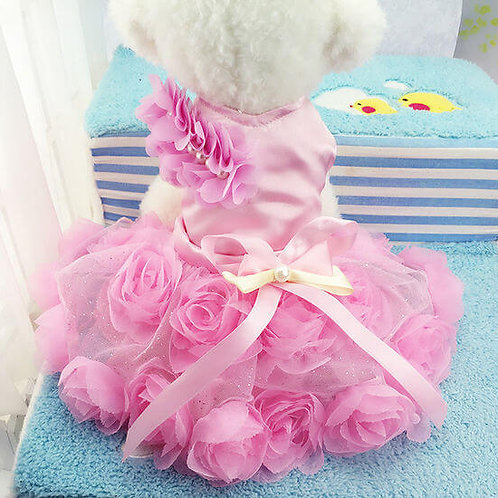 Mr Wow Princess Frock Dress for Puppy Toy Dogs and Cats
