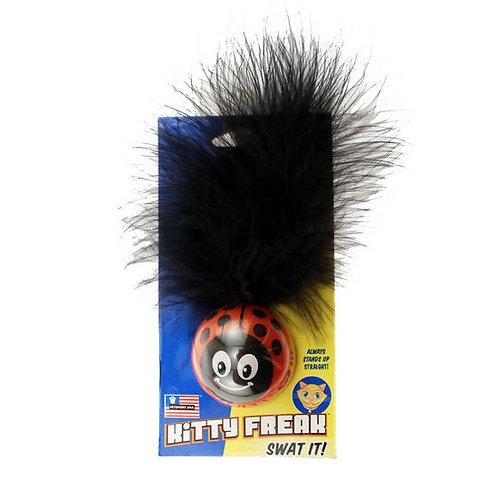 Petsport USA Kitty Freak Ladybug CatNip Toy