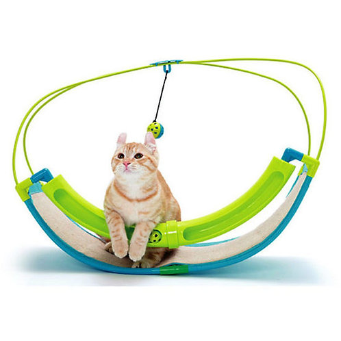 Kitty City Rocking Roller Famous Cat Toy