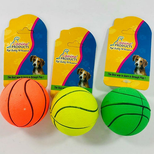 Canine Dog Toy Rubber Ball