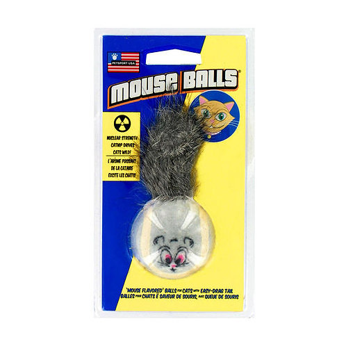 Petsport USA Mouse Balls CatNip Cat Toy