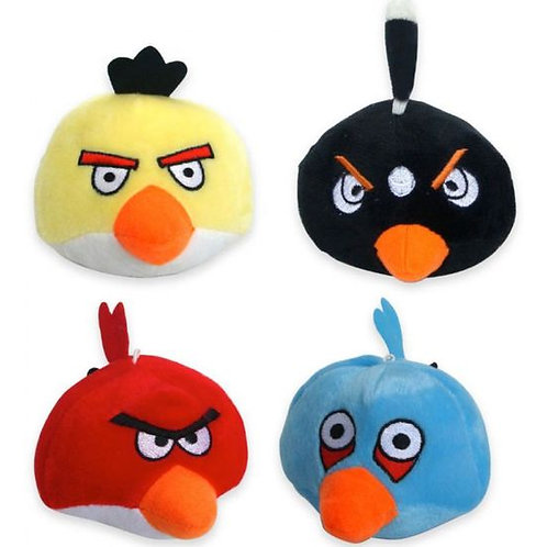 Nunbell Angry Bird Plush Squeaky Soft Toys for Pets