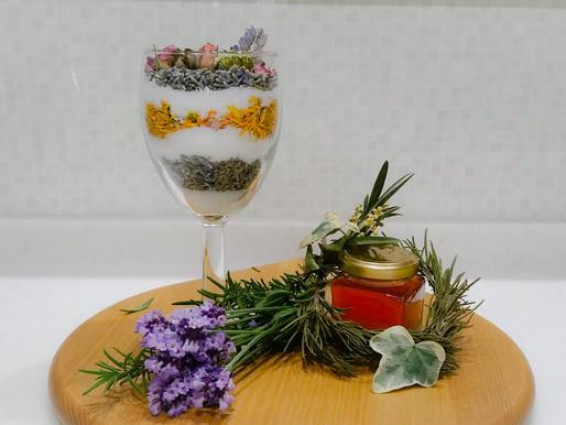 6月29日(土)『レイヤーモイストポプリとラベンダービネガー作り』