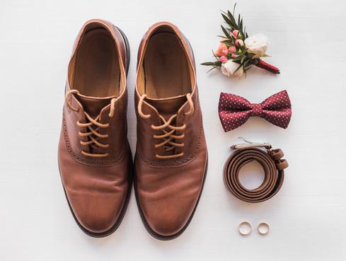 Man Bruiloft accessoires